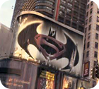 "Superman / Batman - Logo aus ""I am Legend"""