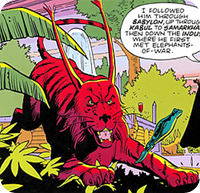 Bubastis in der Graphic Novel Watchmen