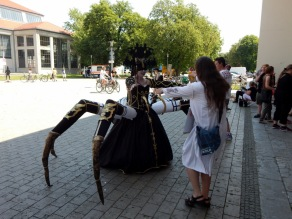 "Cosplay ""Spinnenfrau"""