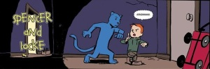 Spencer & Locke Panel, © 2017 Action Lab Entertainment