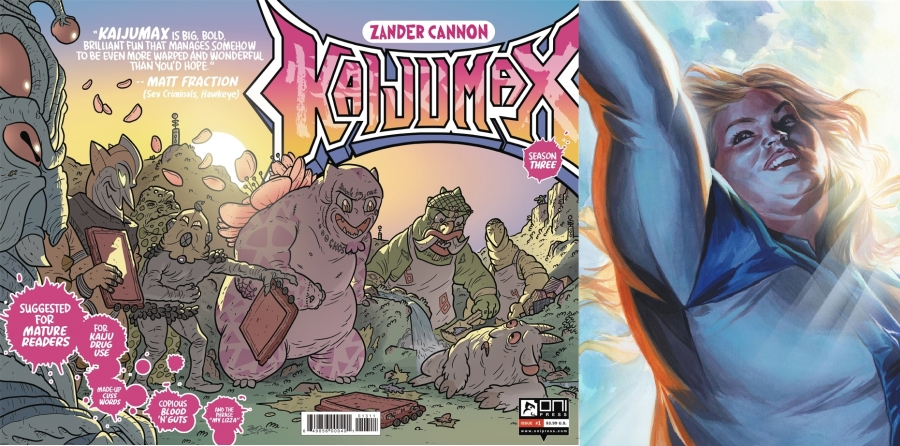 KAIJUMAX SEASON 3 #1 und FAITH AND THE FUTURE FORCE #1 CVR E 20 COPY INCV